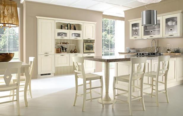 IBC furniture catalog: Cucine Lube - classic kitchens